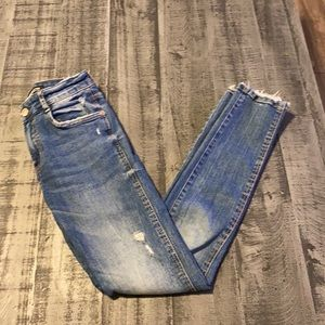Zara Trafaluc Collection High Rise Skinny  Jeans